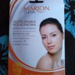 Złota maska kolagenowa Marion Spa