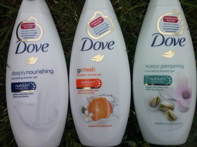 Żele pod prysznic Dove! Którą wersję zapachową wybierzesz?