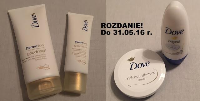 Specjalnie dla Was – rozdanie majowe z kosmetykami Dove!
