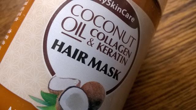 kokosowa maska do włosów