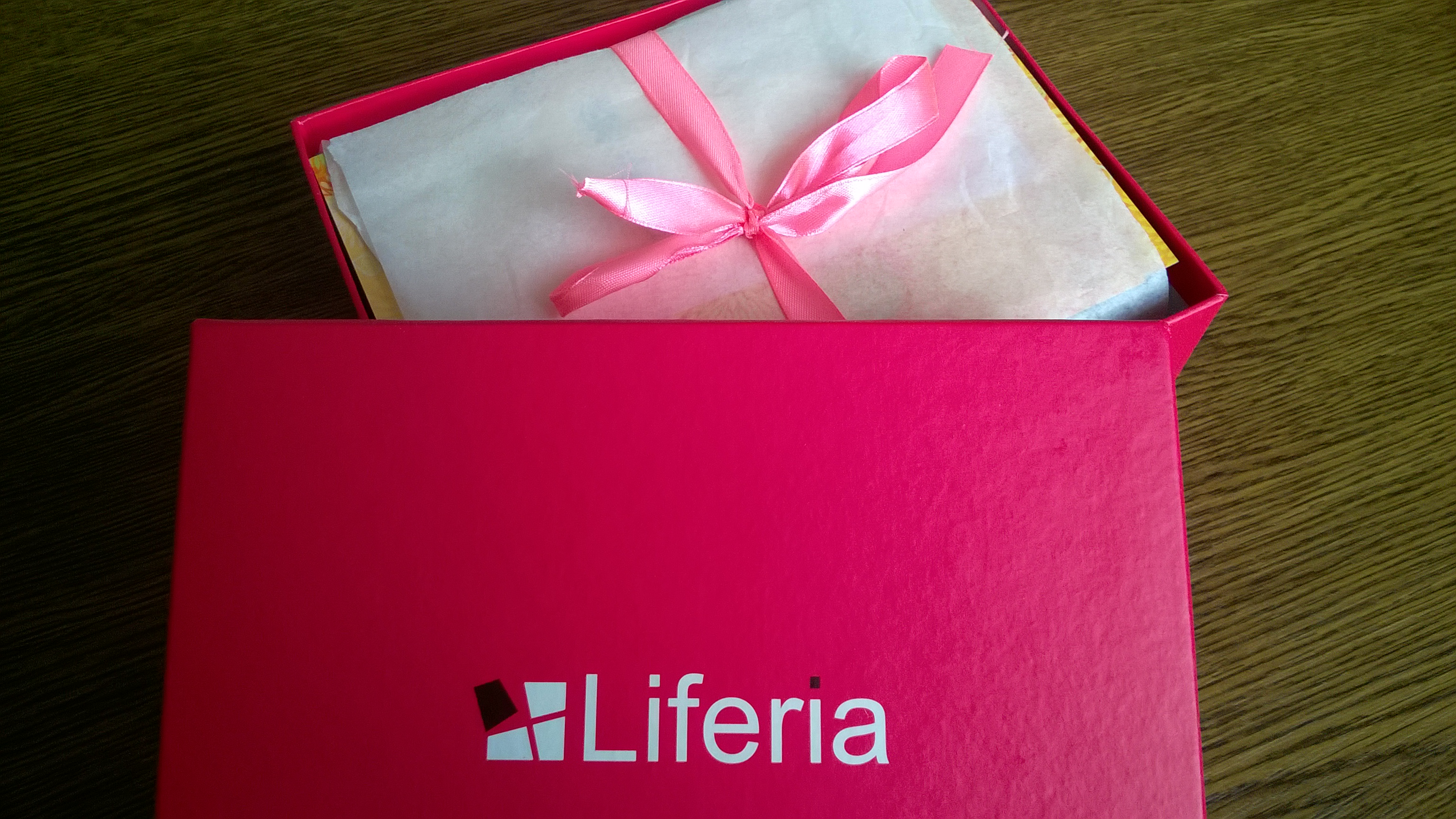 Liferia - pudełko