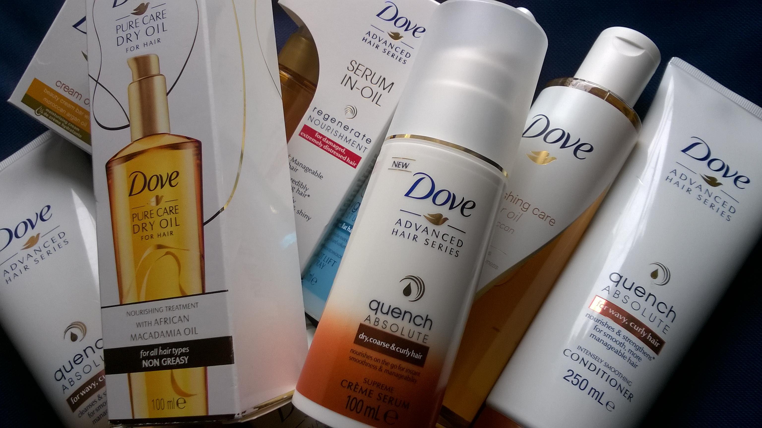 kosmetyki do włosów Dove