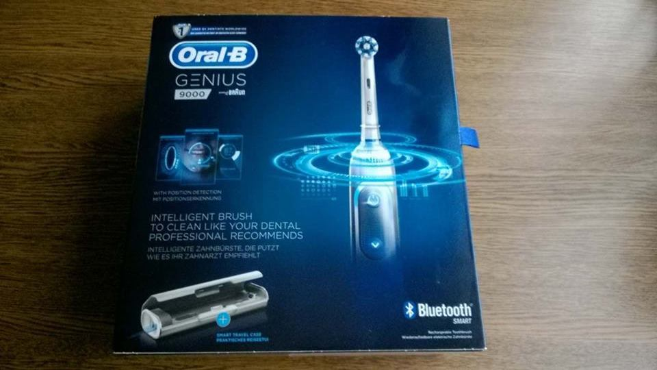 Inteligentna szczoteczka Oral-B Genius 9000