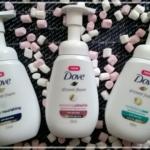 Pianki pod prysznic Dove – delikatne otulenie