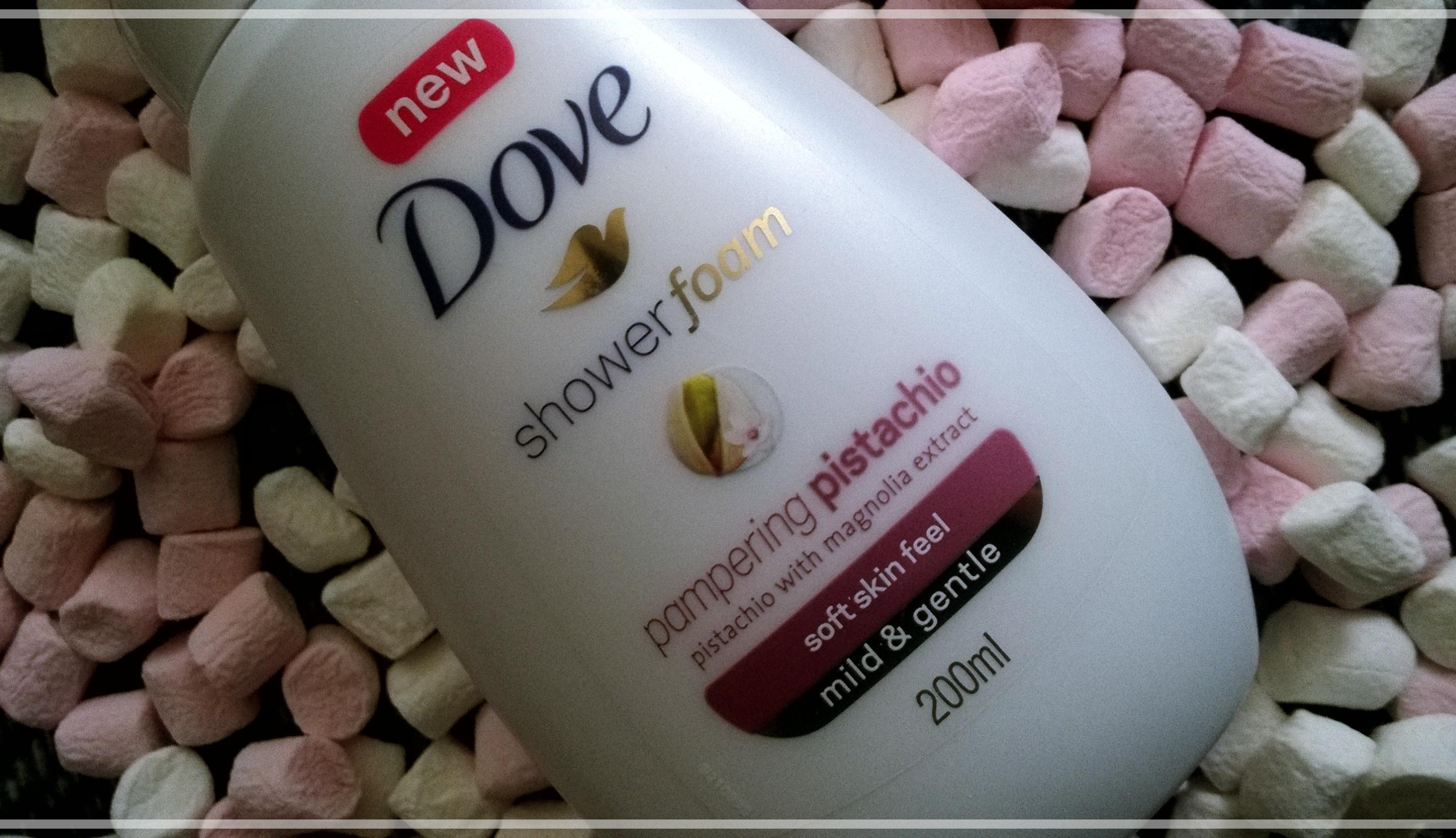 pianki pod prysznic Dove