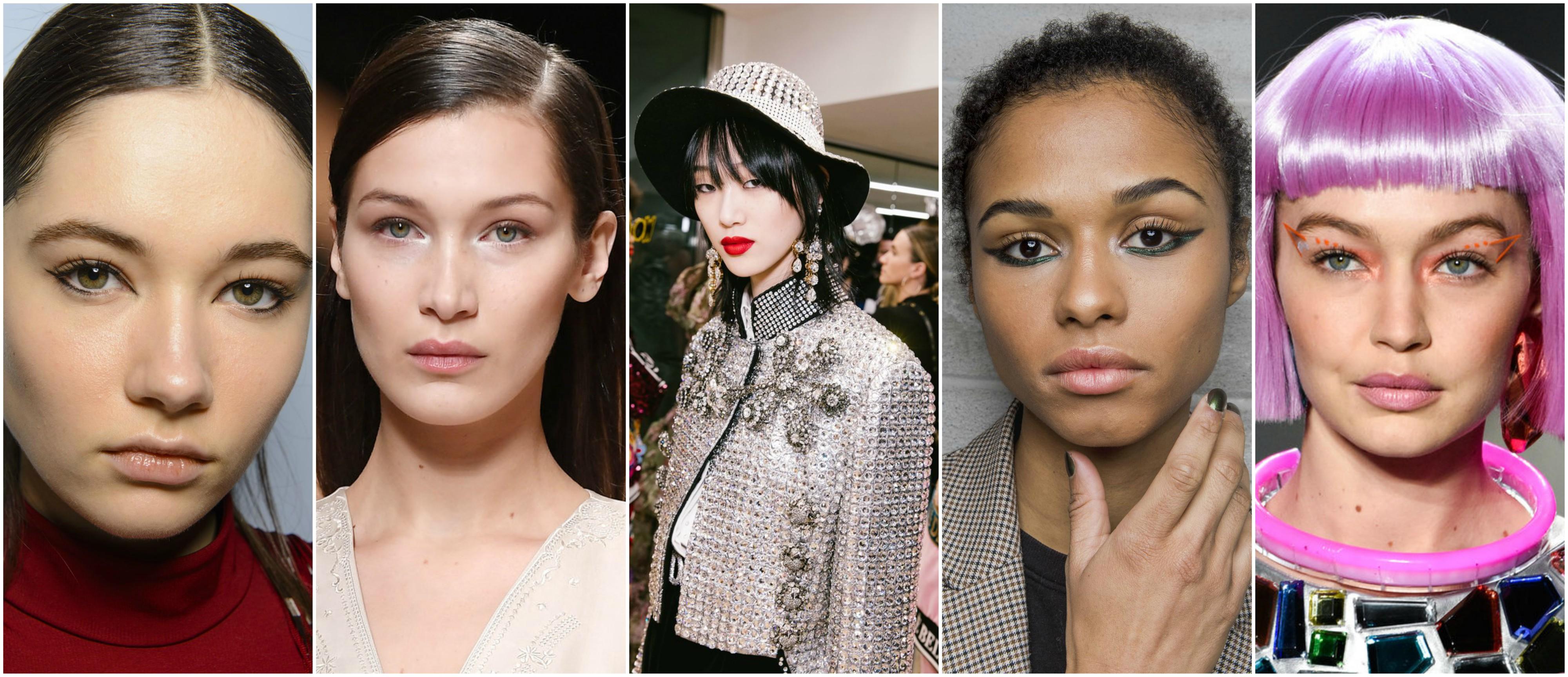 10 trendów makijażowych prosto z Fashion Week