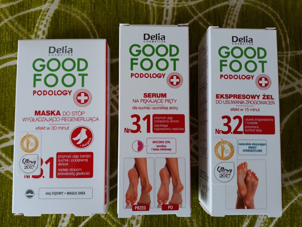 kosmetyki Delia Good Foot