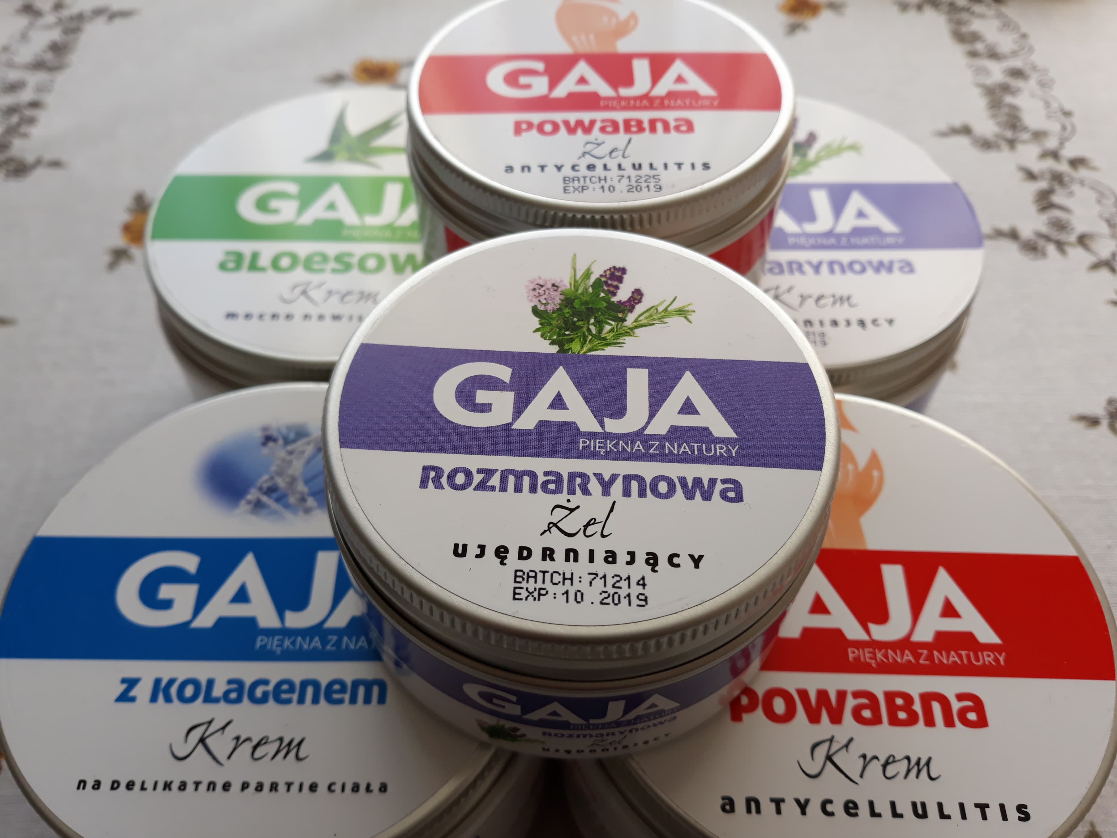Kosmetyki naturalne Gaja – jeśli szukasz wydajnego kremu o dużej pojemności, sprawdź koniecznie!