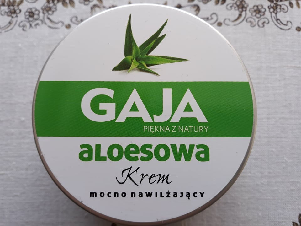 kosmetyki naturalne - kremy Gaja - kolagen, aloes, algi