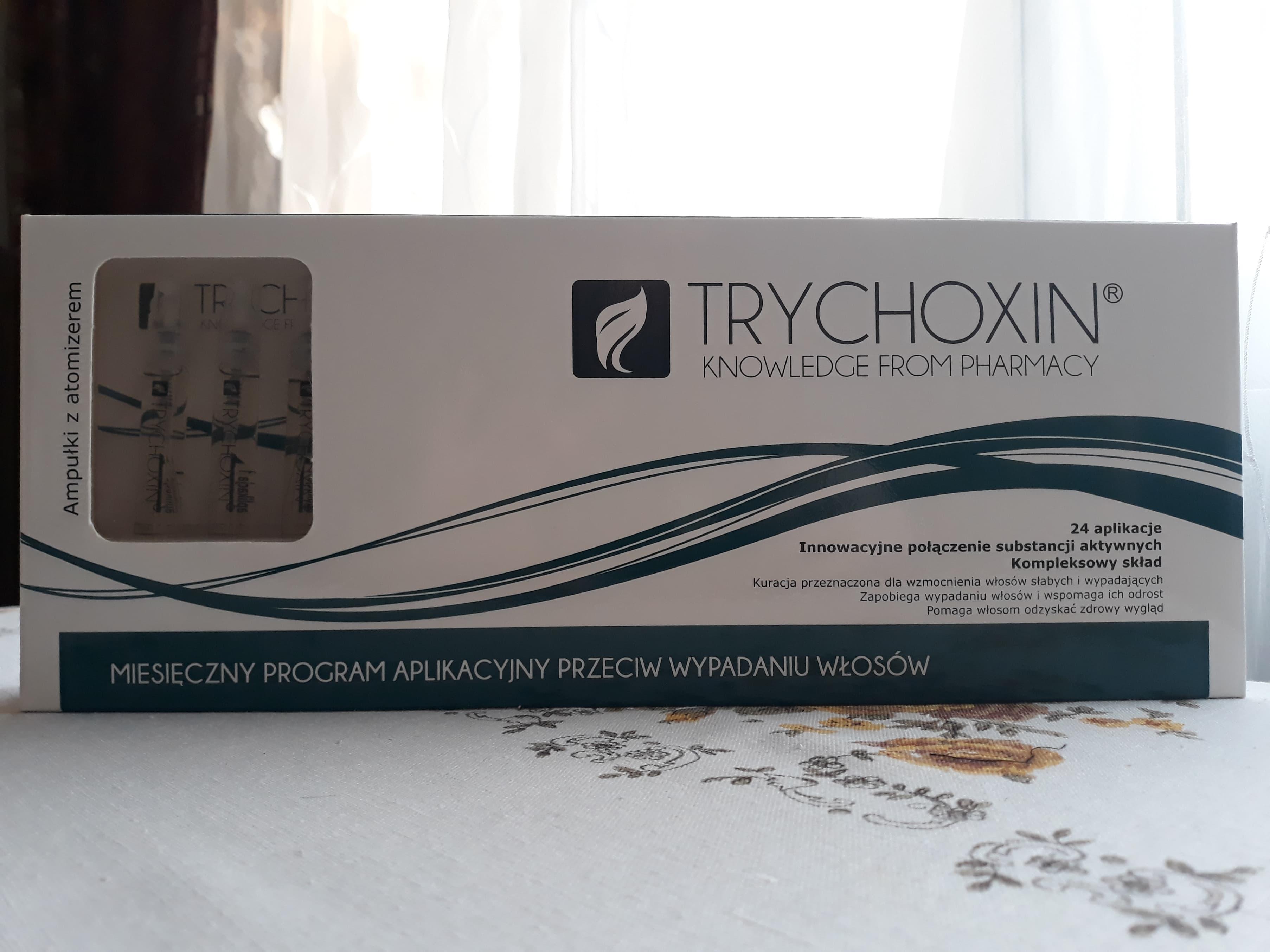 TRYCHOXIN - szampon przeciw wypadaniu włosów