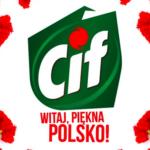 Akcja Cif. Witaj, piękna Polsko! Każdego dnia dbamy o siebie, wnętrza mieszkań, nasze ogrody – teraz czas zadbać o okolice.