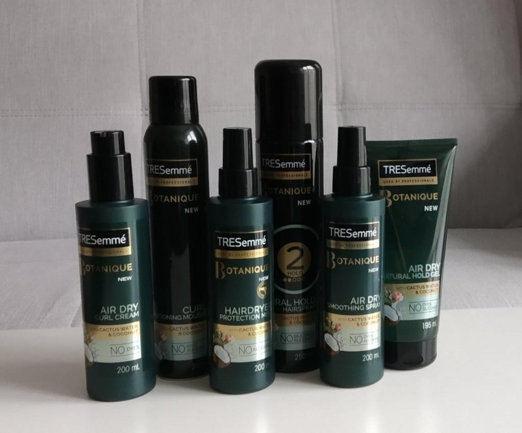TRESemme Botanique Styling - profesjonalna stylizacja włosów