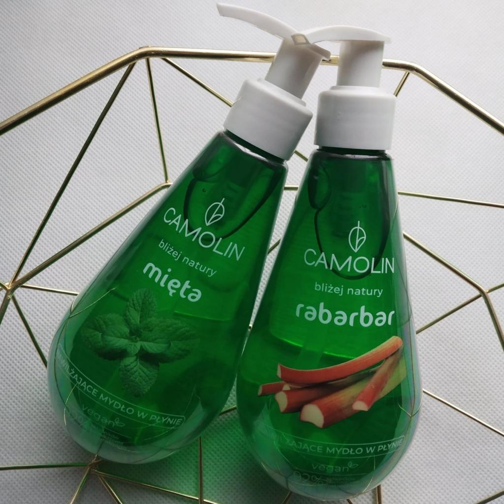 mydło w płynie Camolin - kosmetyki wegańskie