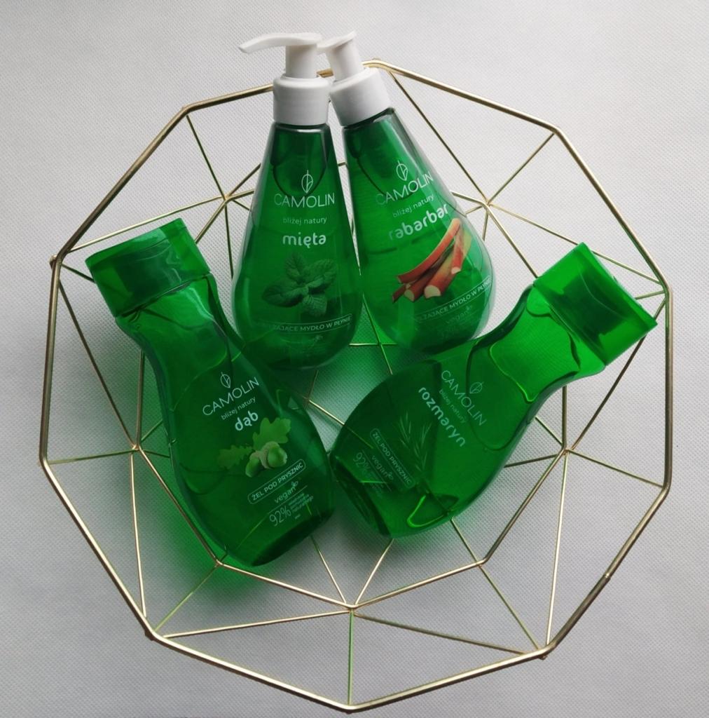 produkty Camolin - kosmetyki wegańskie