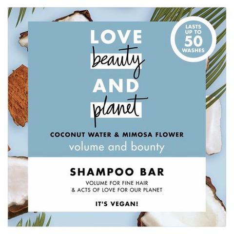 Love Beauty and Planet - szampon w kostce - jak zredukować zużycie plastiku
